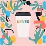 Never Coffee Logo