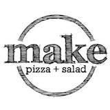 MAKE pizza+salad Logo