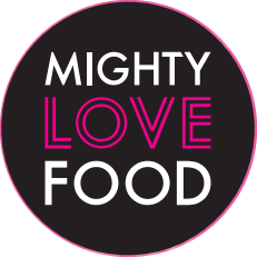 Mighty Love Food Logo