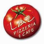 Laz Pizzeria and All Day Breakfast Logo