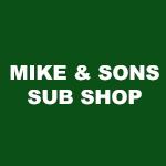 Mike & Sons Sub Shoppe Logo