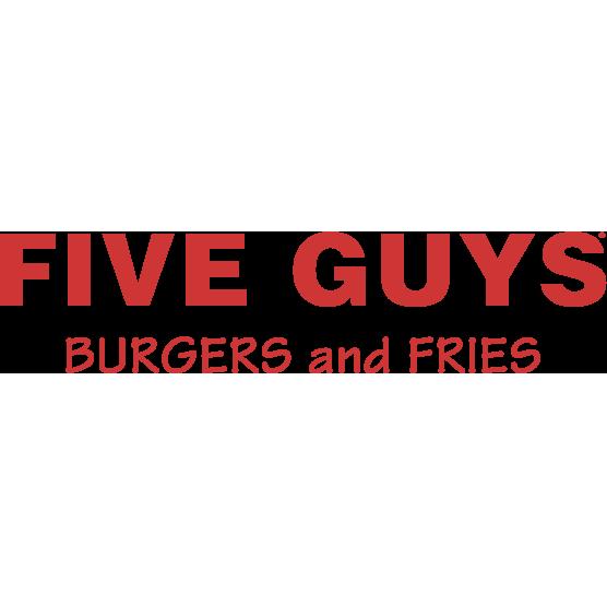 Five Guys MA-1421 158 Everett Ave Logo