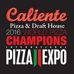 Caliente Pizza & Draft House - Bloomfield Logo