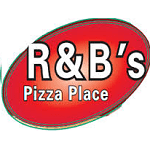 R&B's Pizza Place Logo