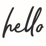 Hello Juice & Smoothie Logo
