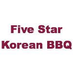 Five Star Korean BBQ Logo