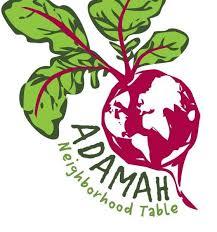Adamah Neighborhood Table Logo