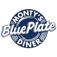 Monty's Blue Plate Diner Logo