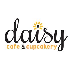 Daisy Cafe and Cupcakery Logo