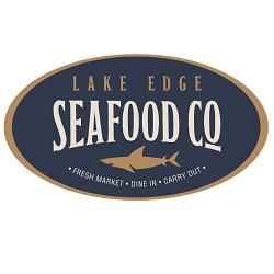 Lake Edge Seafood Company Logo