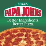 Papa John's (Green & 1st St) Logo