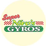 Super Niro's Gyros Logo