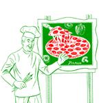 Picasso Pizza Logo