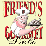 Friend's Delicatessen Logo