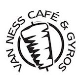 Van Ness Cafe & Gyros Logo