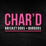 CHAR'D Brisket Dogs + Burgers  Logo