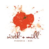 sixth + mill pizzeria and bar Logo