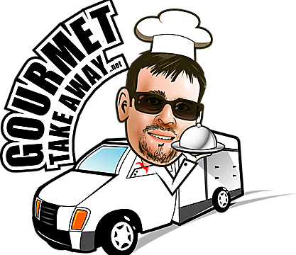 Gourmet Take Away Logo