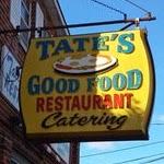 Tate's Good Food Restaurant Logo