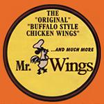 Mr. Wings Pizza & Pasta Logo