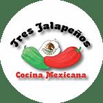 Tres Jalapenos Logo
