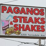 Pagano's Steaks & Shakes Logo