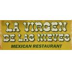 La virgen de las nieves mexican restaurant Logo