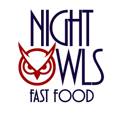 Night Owls Fast Food Logo