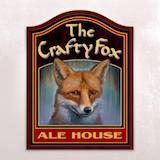 The Crafty Fox Ale House Logo
