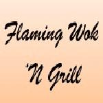 Flaming Wok 'N Grill Logo