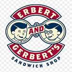 Erbert and Gerbert's Sandwich Shop Logo