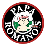 Papa Romano's Pizza & Mr. Pita Logo