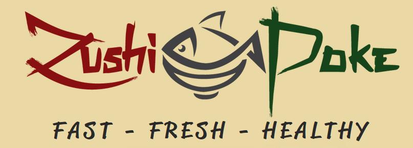 Zushi-Poke Logo