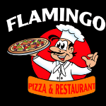 Flamingo Pizza Logo