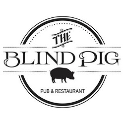 The Blind Pig (Harmon & Dean Martin) Logo
