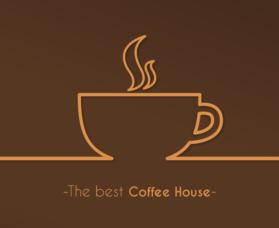 Av P Coffee Shop (Avenue P) Logo