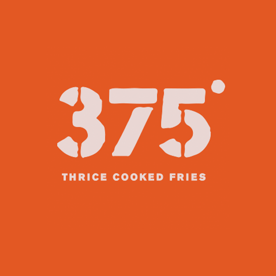 375 Thrice Cooked Fries Logo