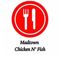 Madtown Chicken n' Fish - West Towne Logo