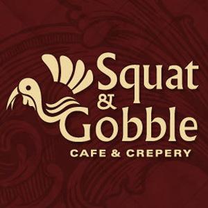 Squat and Gobble - West Portal Logo