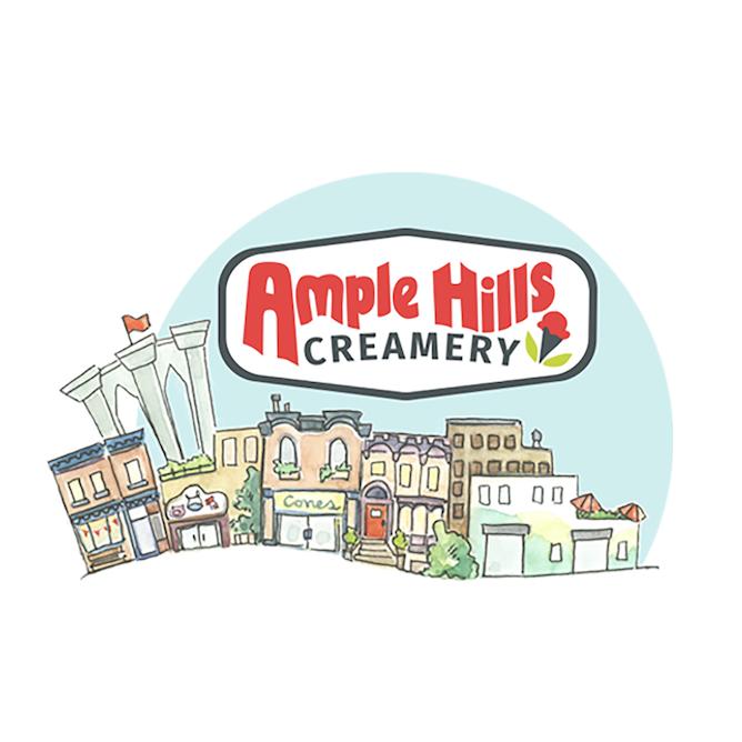 Ample Hills @ Gotham Market West Logo