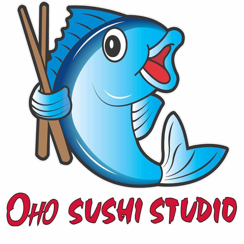 Oho Sushi Studio  Logo