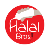 Halal Bros!  Logo