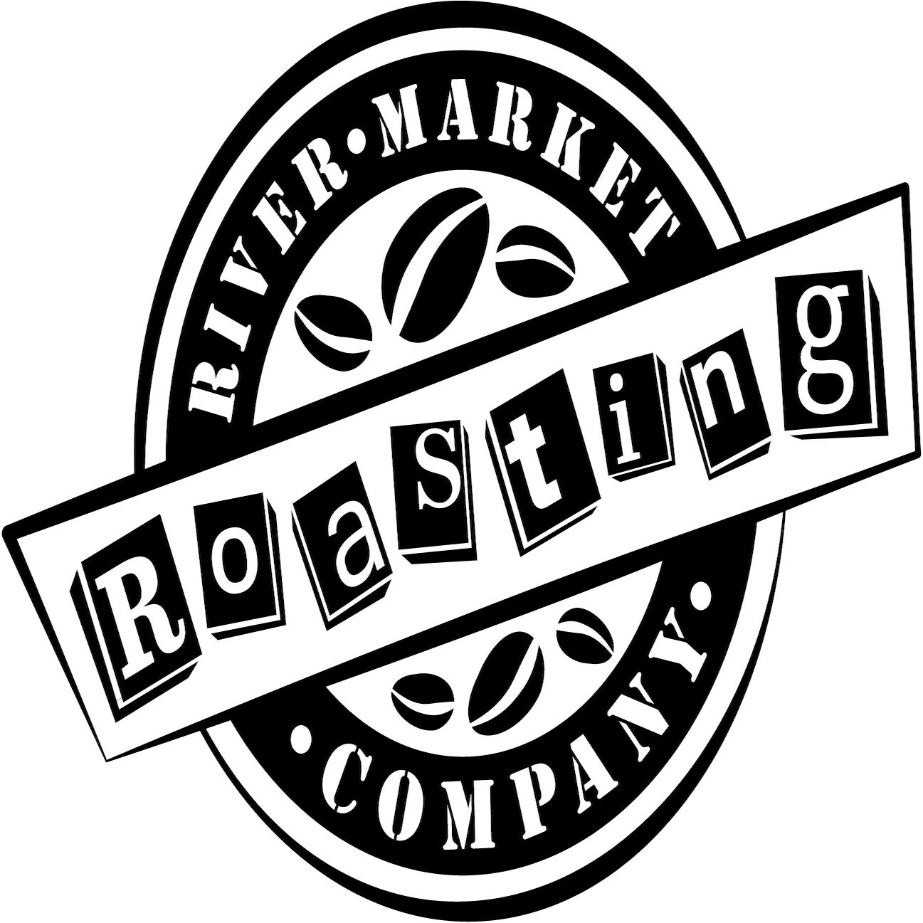 River Market Roasting Co Logo