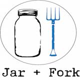 Jar + Fork Logo