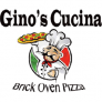 Gino's Cucina Brick Oven Pizza Logo