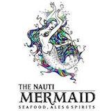 The Nauti Mermaid Crab House Logo