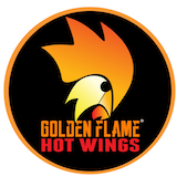 Golden Flame Hot Wings (Village Square Ln) Logo