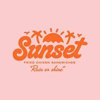 Sunset Fried Chicken Sandwiches Logo