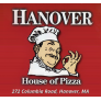 Hanover House of Pizza Logo