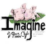 Imagine Vegan Cafe Logo